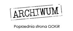 Poprzednia strona internetowa GOKiR